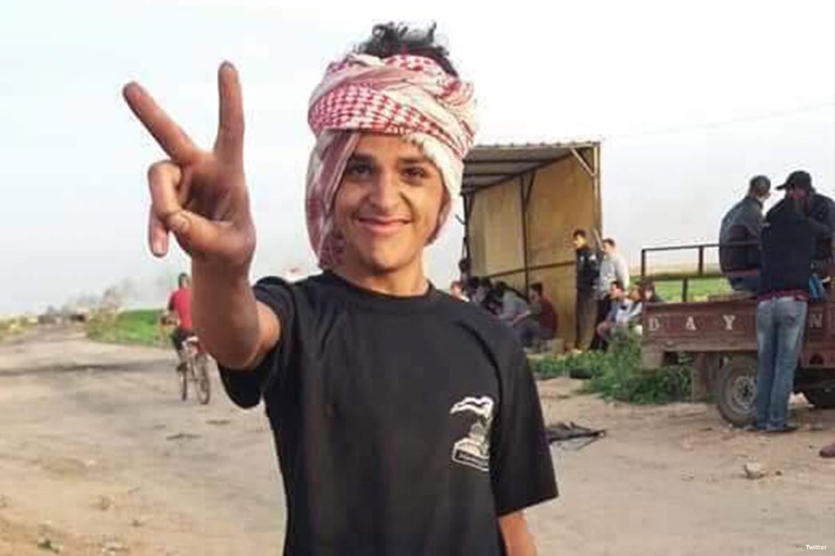 Adolescente palestinese sordo, ultima vittima dell'attacco di Israele contro Gaza