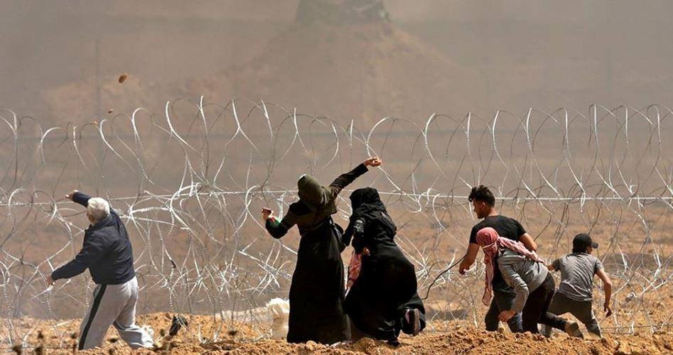 Striscia di Gaza, 4 feriti nel 19° giorno di Marcia del Ritorno