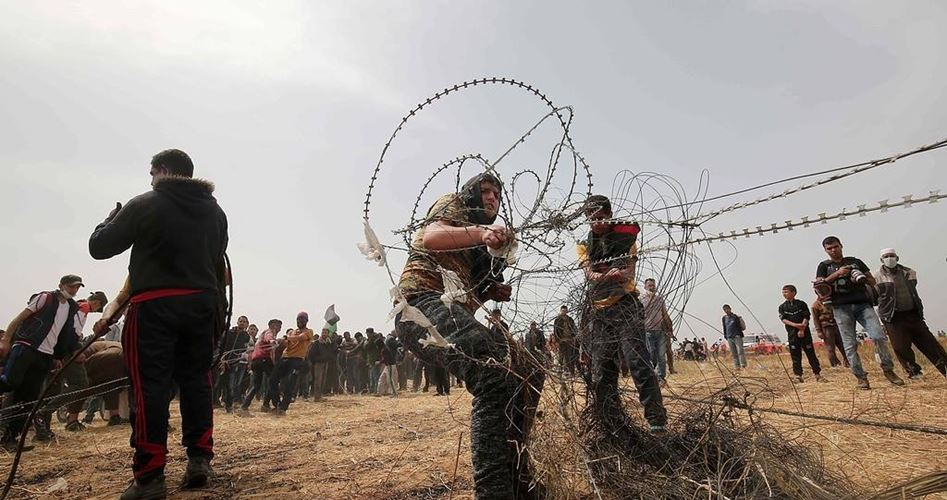 Continuano le proteste lungo il confine di Gaza