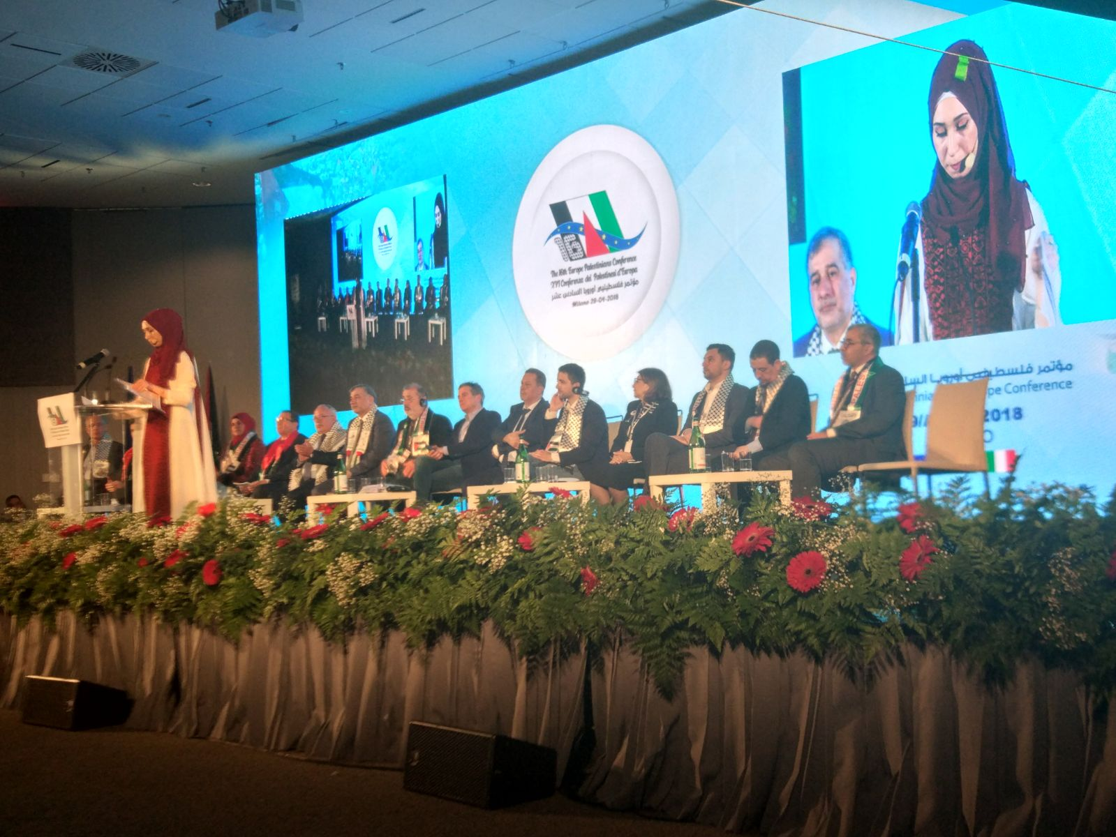 Report sulla XVI Conferenza dei Palestinesi d'Europa