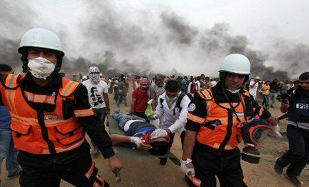 La Croce Rossa chiede ad Israele di rispettare le squadre di soccorritori di Gaza