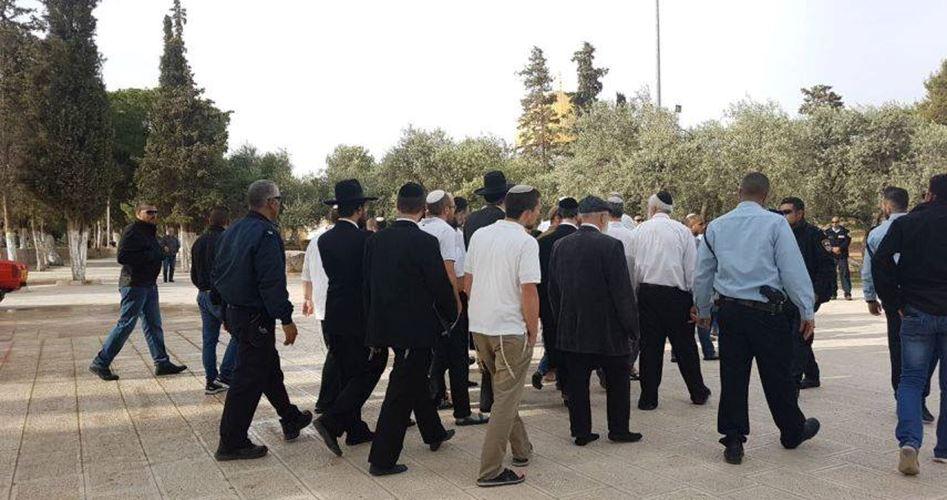 Coloni invadono al-Aqsa tra forti restrizioni verso palestinesi