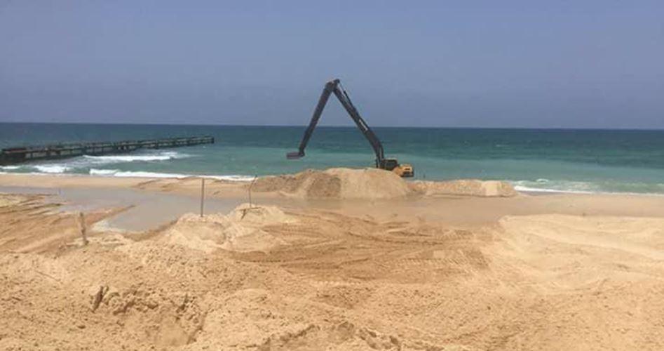 Israele comincia costruzione di barriera marina lungo il confine con Gaza