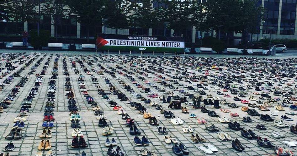 Memoriale a Bruxelles celebra i 4500 palestinesi assassinati da Israele dal 2008