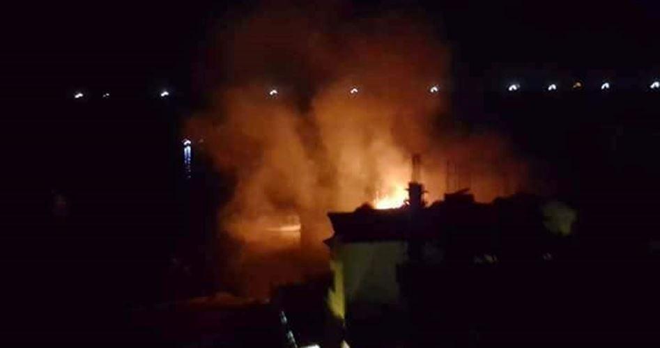 Bombardamenti aerei israeliani contro aree della Striscia di Gaza