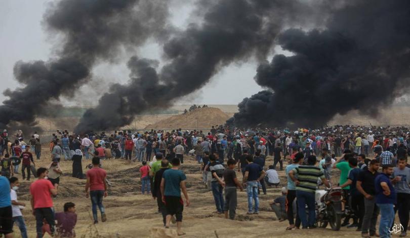 Striscia di Gaza, 7° venerdì della Grande Marcia del Ritorno