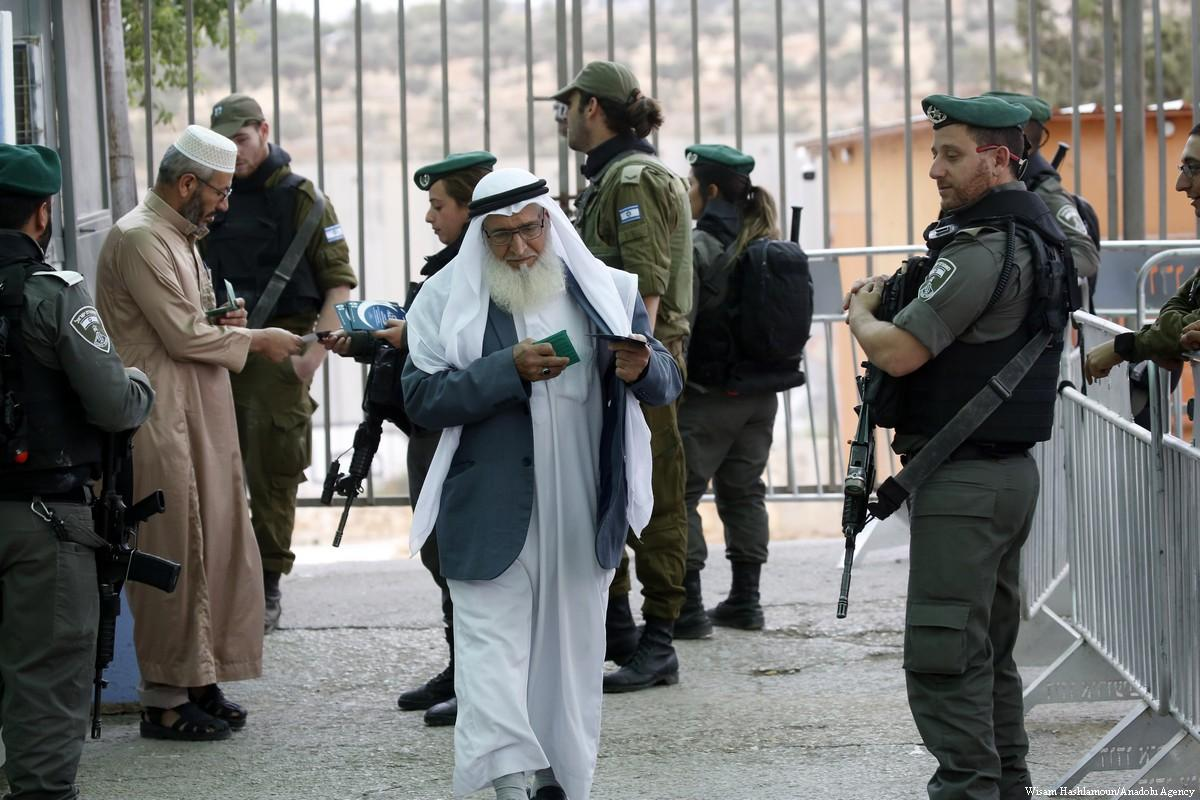 Israele schiera un vasto numero di soldati a Gerusalemme
