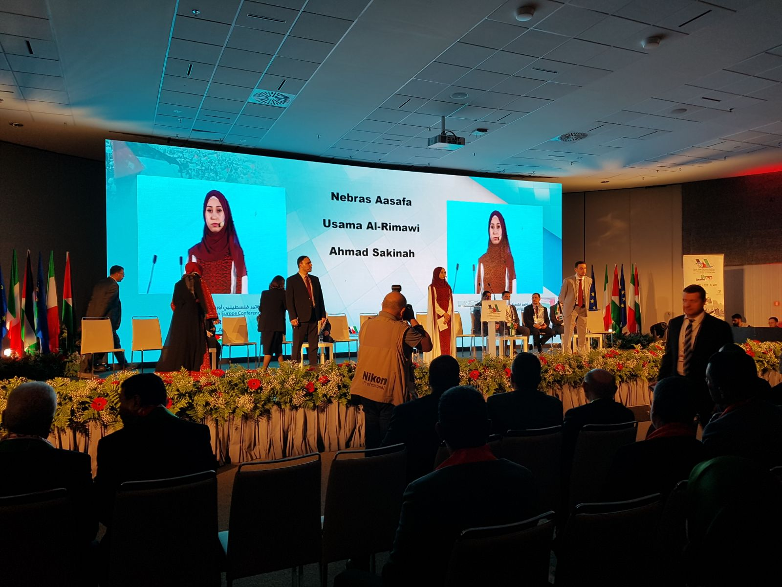 Il GPI e la XVI Conferenza dei Palestinesi d'Europa: commenti e impressioni