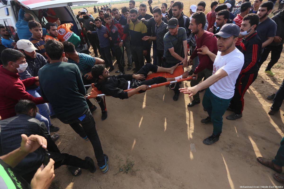 Striscia di Gaza, 170 feriti da Israele durante protesta della Grande Marcia del Ritorno