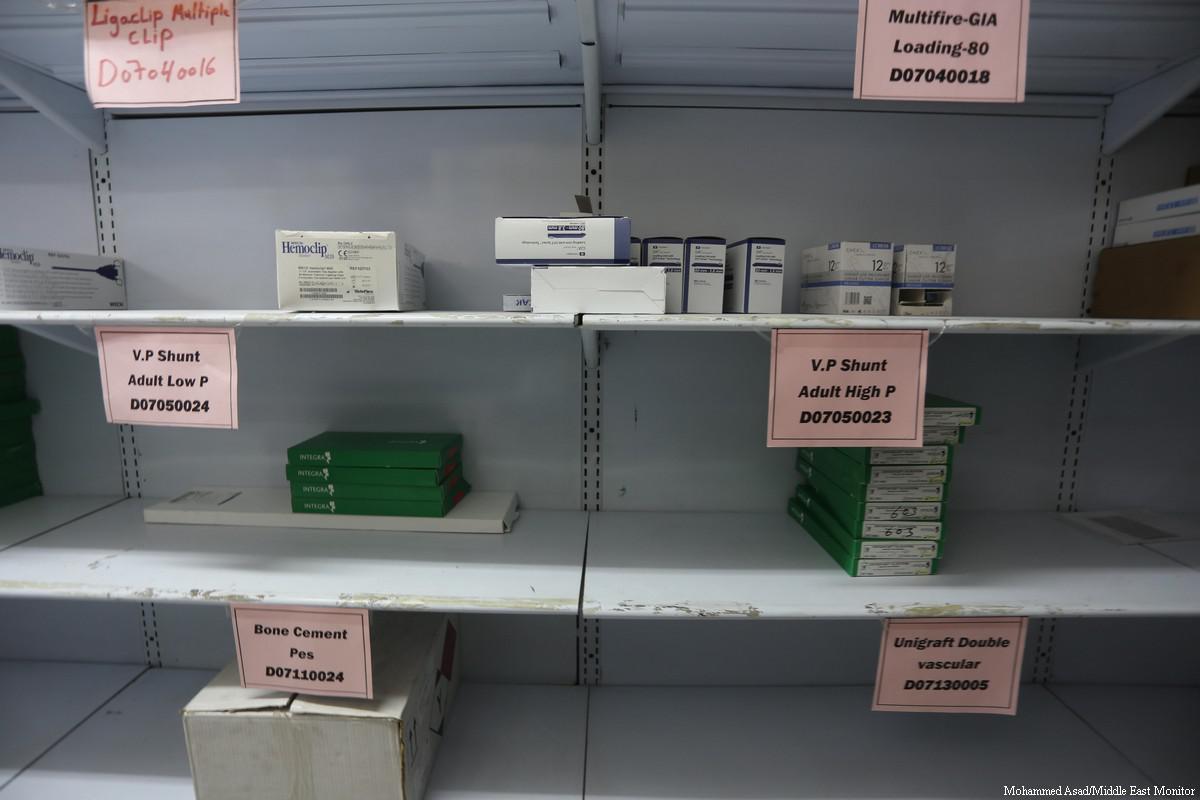 Ministero della Sanità di Gaza: esaurito il 49% dei farmaci