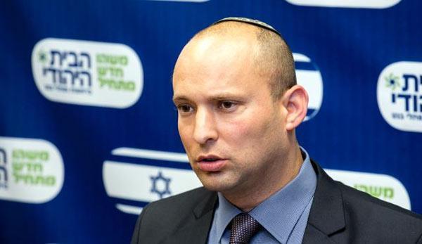 """Bennett: """"La Cisgiordania diventerà presto parte d'Israele"""""""