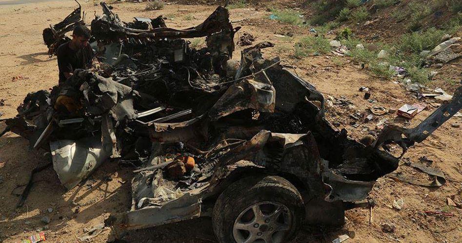 Drone israeliano colpisce auto civile a Gaza