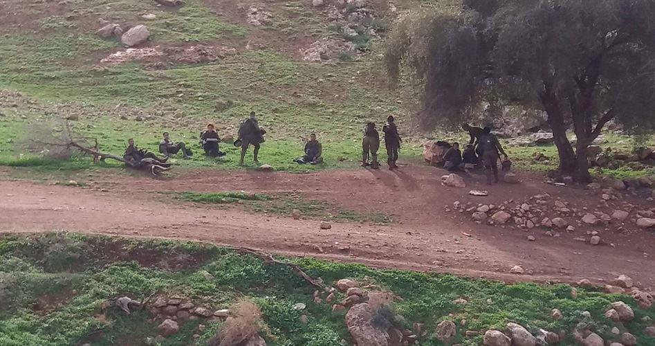 21 famiglie palestinesi espulse di casa dall'esercito israeliano