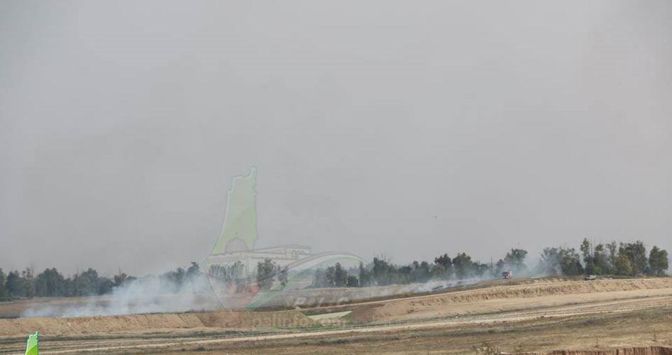 Incendio a Nahal Oz a causa di palloncini di Gaza