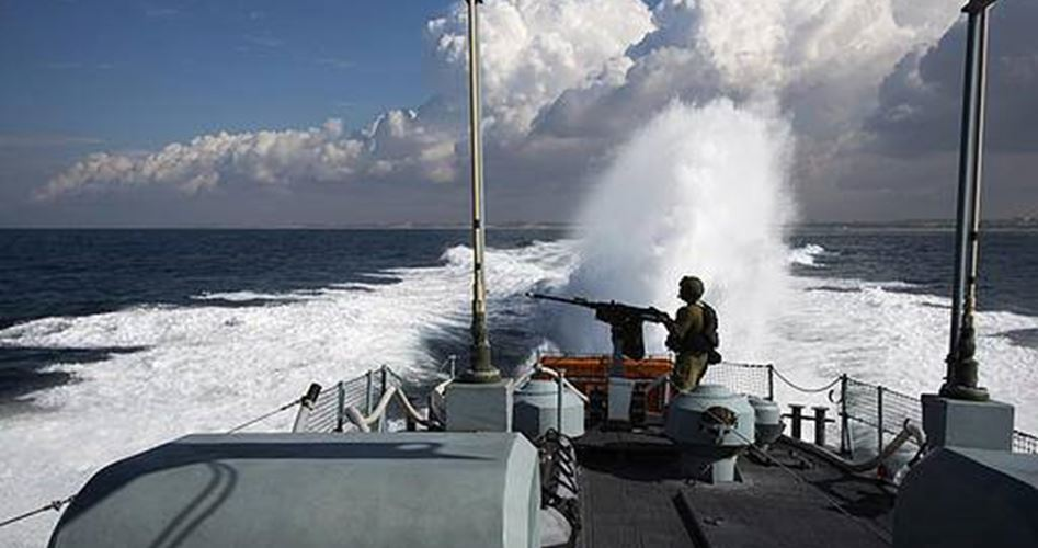 Marina israeliana colpisce la riva di Gaza