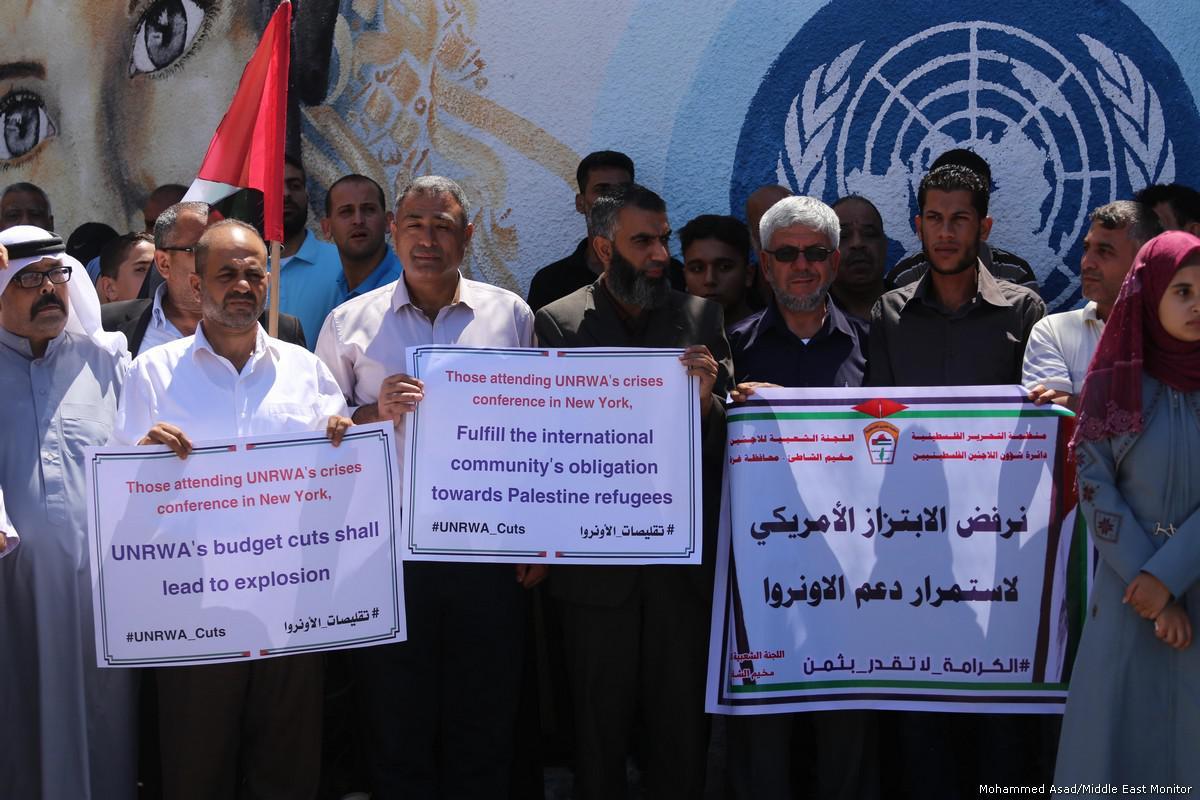 USA congelano assistenza civile all'Autorità Palestinese