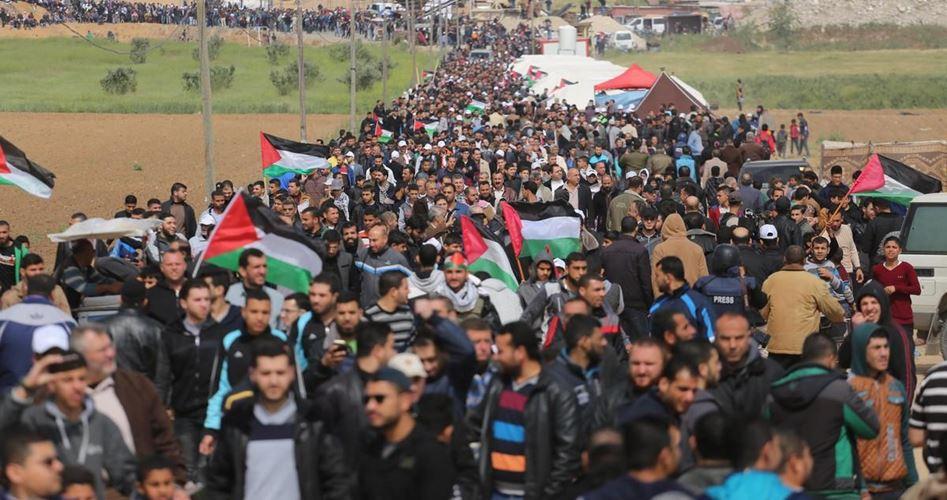 Palestinesi invitati a partecipare attivamente nelle manifestazioni di venerdì