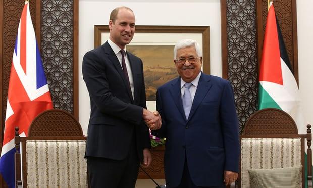 """""""Non siete stati dimenticati"""", ha dichiarato il Principe William al popolo palestinese"""