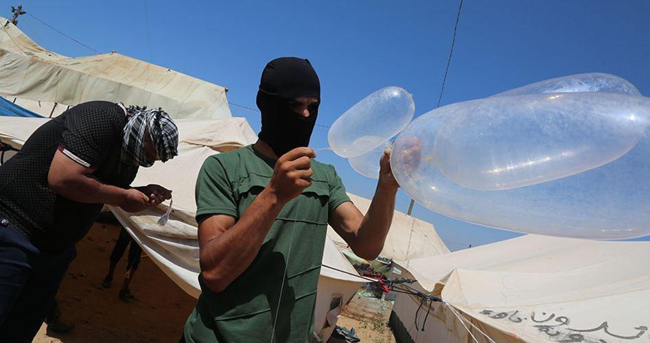 12 incendi nelle colonie vicine a Gaza