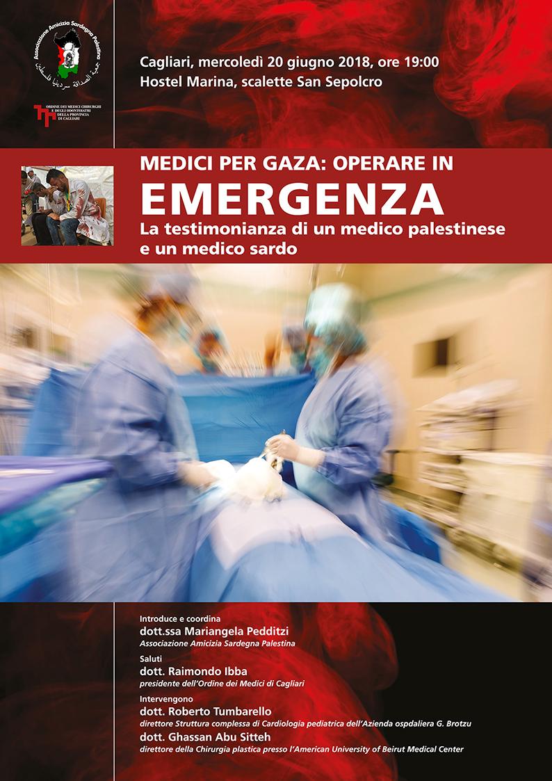 Medici per Gaza: operare in Emergenza