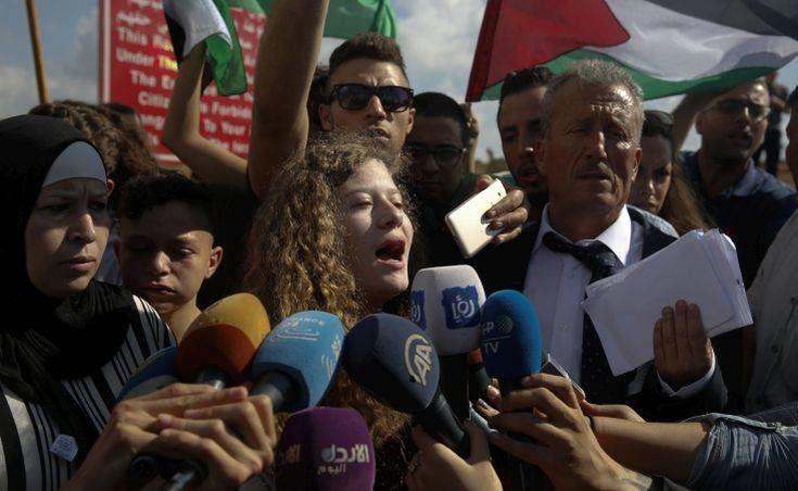 Ahed Tamimi vuole continuare la resistenza come avvocato