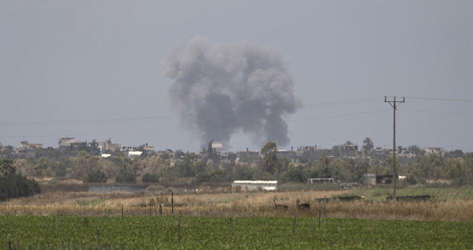 Palestinese ferito in attacco aereo israeliano su Gaza
