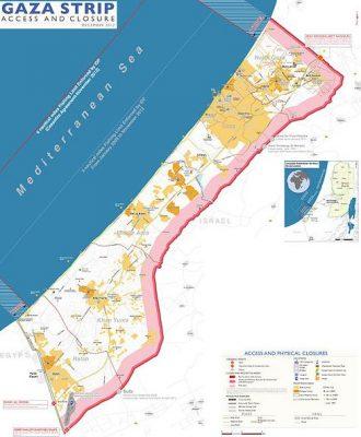 Israele riduce zona di pesca e chiude valico a Gaza