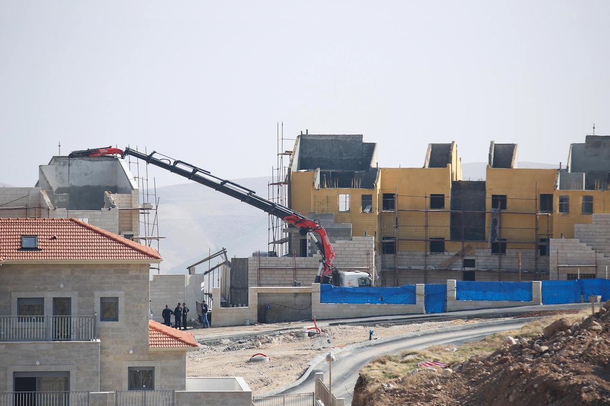 """Ai palestinesi solo lo 0.25% delle terre """"israeliane"""" nella Cisgiordania occupata"""