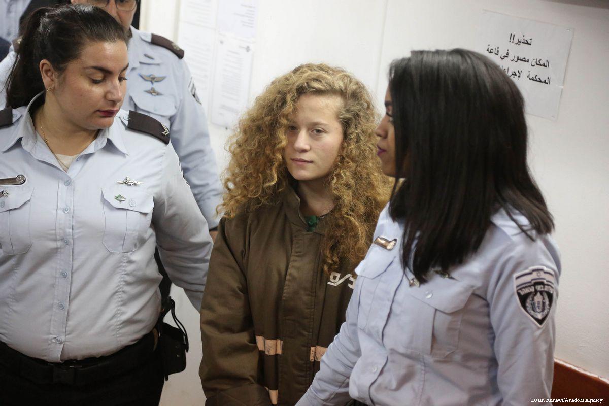 Ahed Tamimi potrebbe essere rilasciata domenica