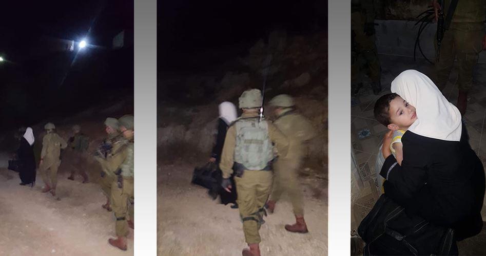Scrittrice e mamma palestinese sequestrata dalle forze di occupazione
