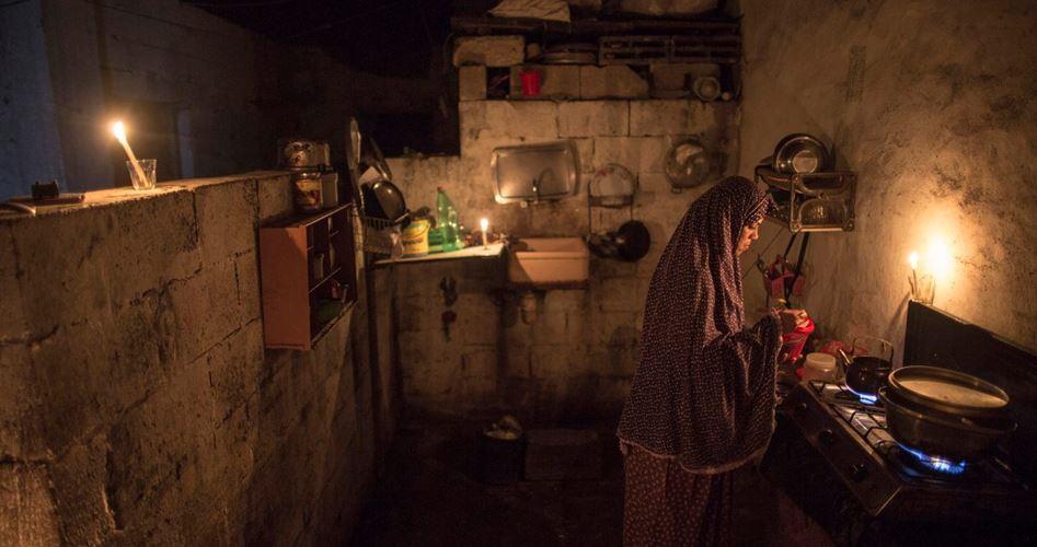 La Striscia di Gaza senza elettricità per 20 ore al giorno