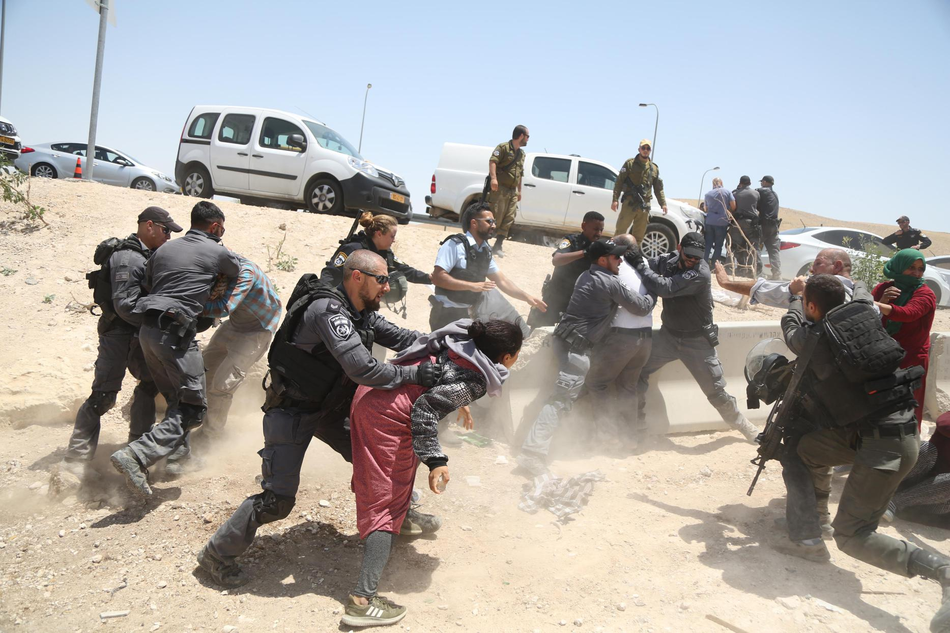 La demolizione di Al-Khan Al-Ahmar è una mini-Nakba