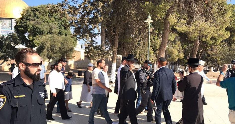 Gerusalemme, 134 tra coloni e funzionari israeliani invadono al-Aqsa