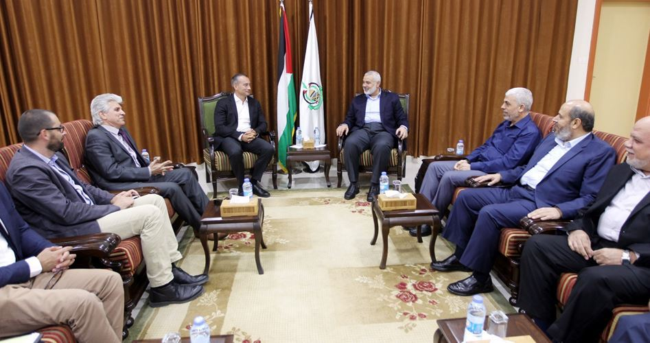 Haniyah incontra il Coordinatore speciale dell'ONU a Gaza