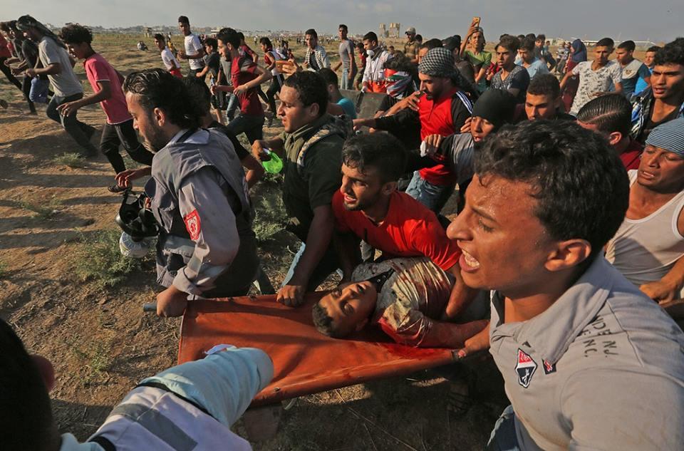 Striscia di Gaza, un ragazzo ucciso e 220 feriti durante manifestazione della Grande Marcia del Ritorno