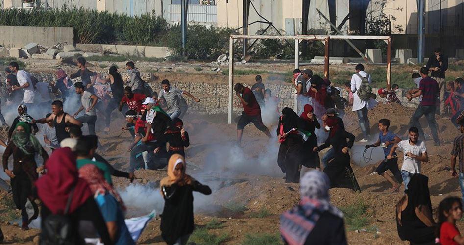 Striscia di Gaza, manifestazione delle donne per il Ritorno: 134 tra feriti e asfissiati