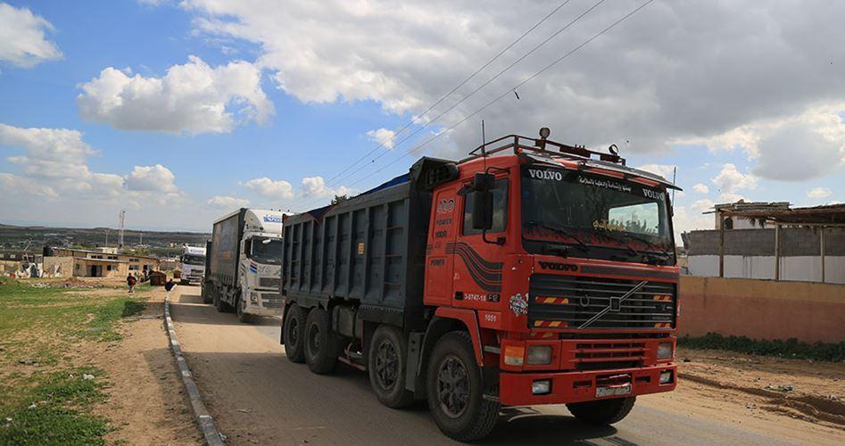 Israele blocca 2000 camion diretti a Gaza