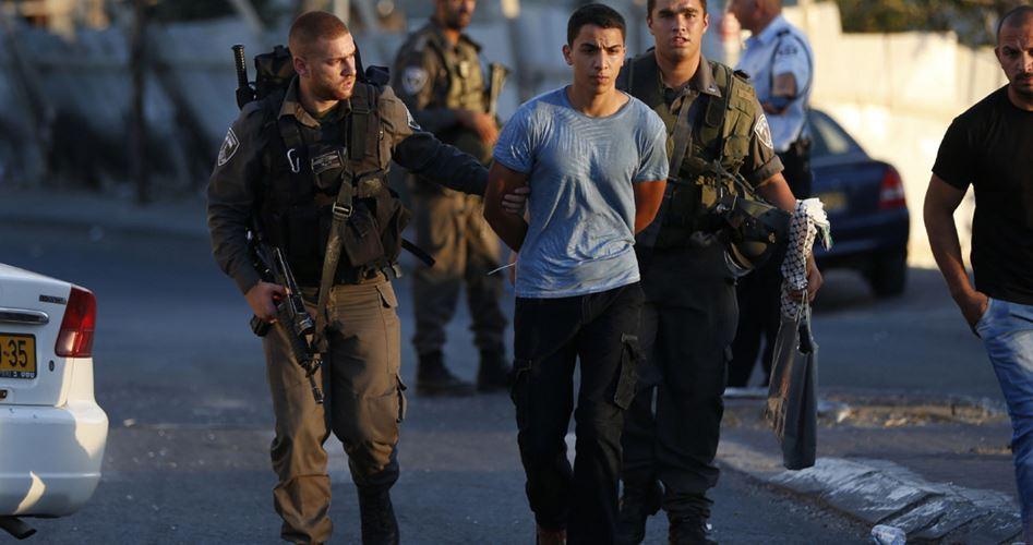 17 Palestinesi arrestati in Cisgiordania e Gerusalemme