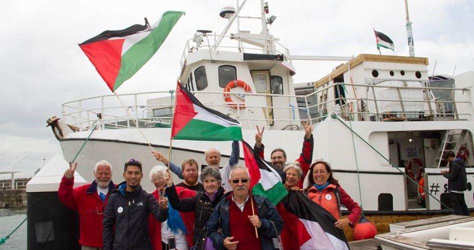 La Flotilla anti-assedio parte dall'Italia verso la Striscia di Gaza