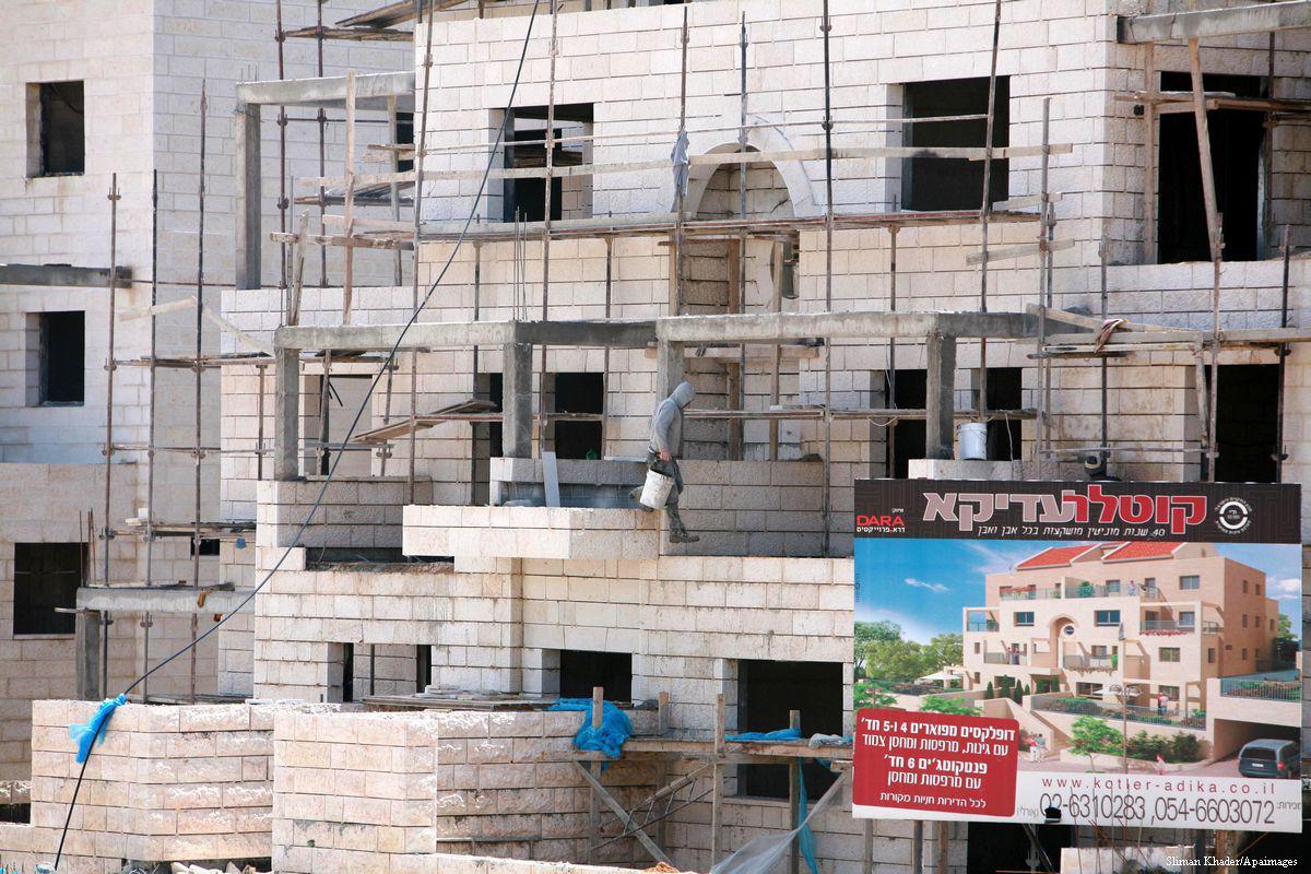 Israele ha approvato 2.275 nuove unità abitative coloniali a Gerusalemme Est