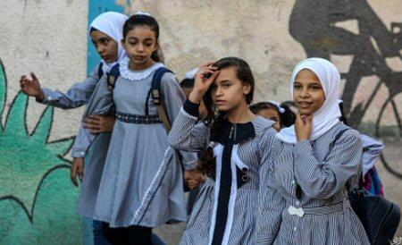 Oltre 1,3 milioni di studenti palestinesi iniziano anno scolastico
