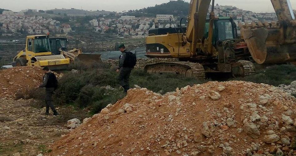 Nuovi progetti coloniali vicino a Betlemme