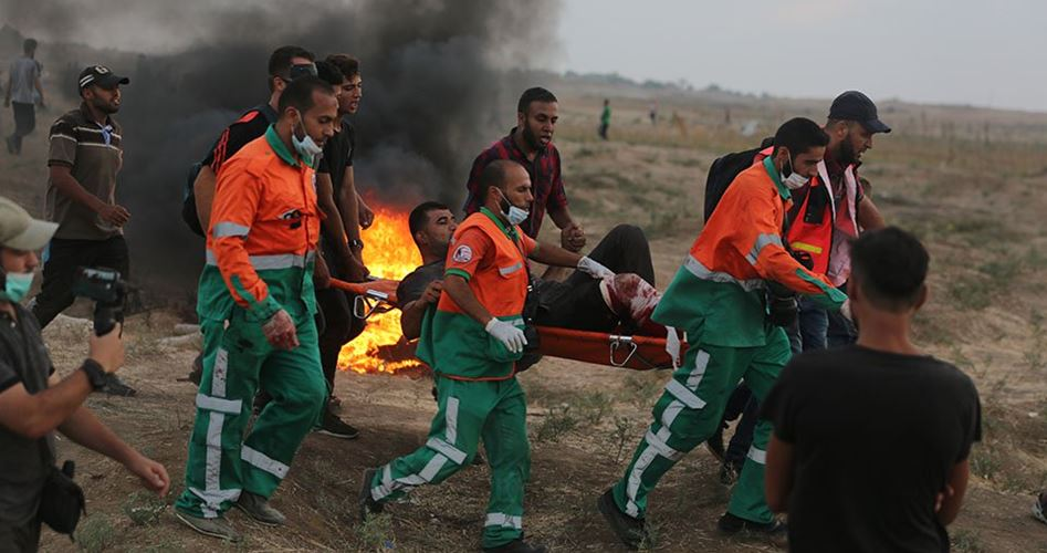 Gaza, 189 Palestinesi feriti nelle proteste della Grande Marcia del Ritorno