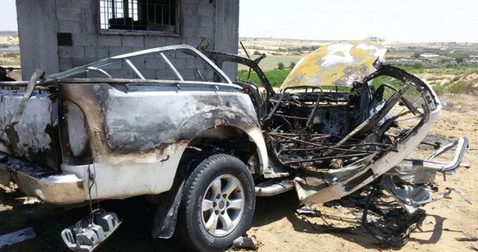 Striscia di Gaza, 4 Palestinesi feriti a seguito di un attacco aereo israeliano contro un'auto
