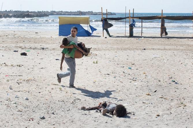 Rapporto israeliano segreto rivela che un drone armato uccise nel 2014 quattro bambini che giocavano sulla spiaggia di Gaza