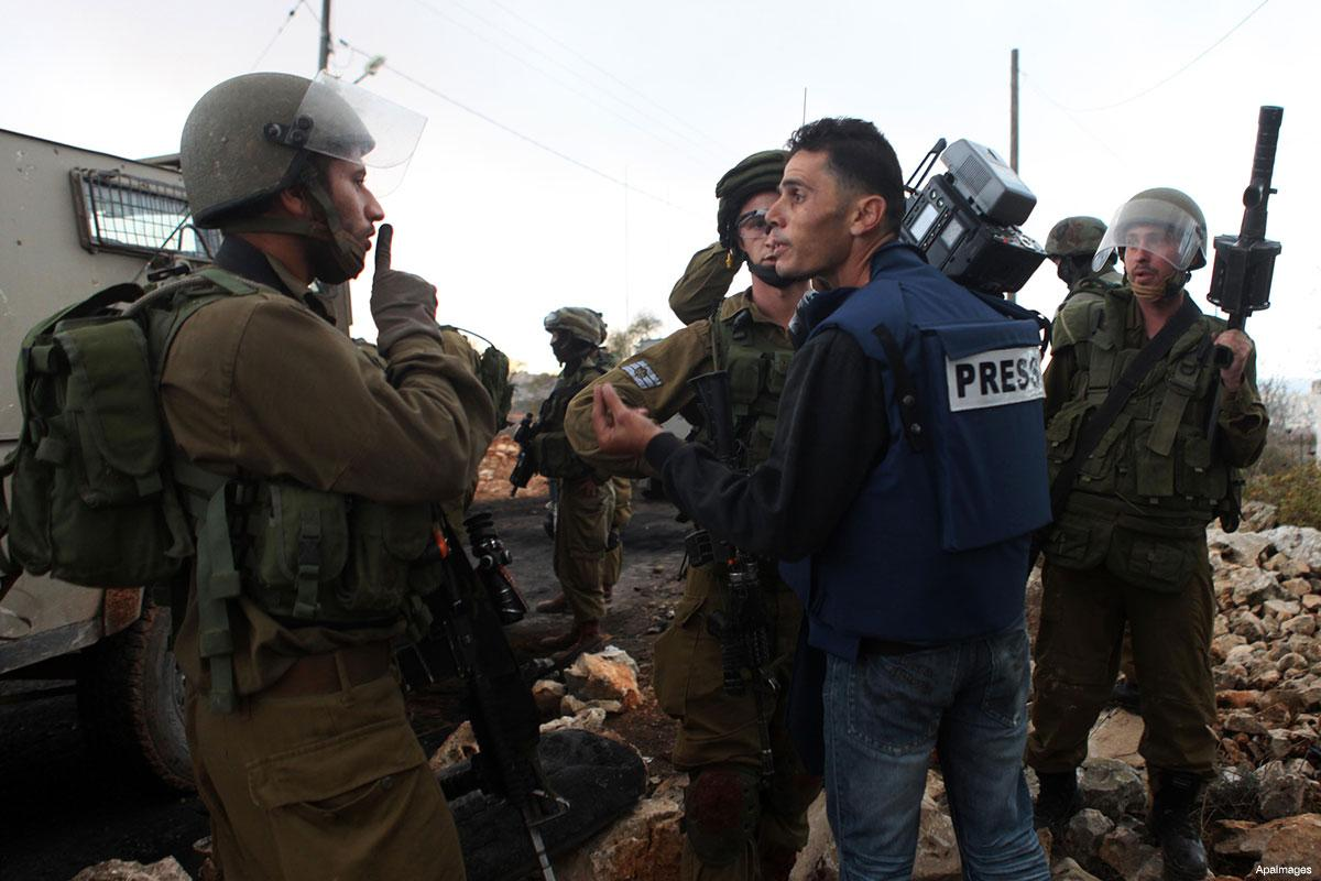 21 giornalisti palestinesi imprigionati nelle carceri israeliane