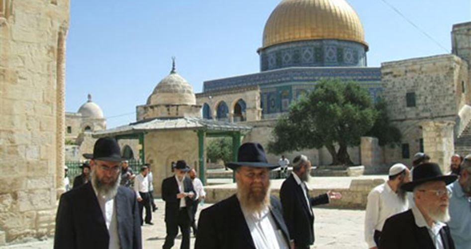 59 israeliani invadono i cortili di al-Aqsa