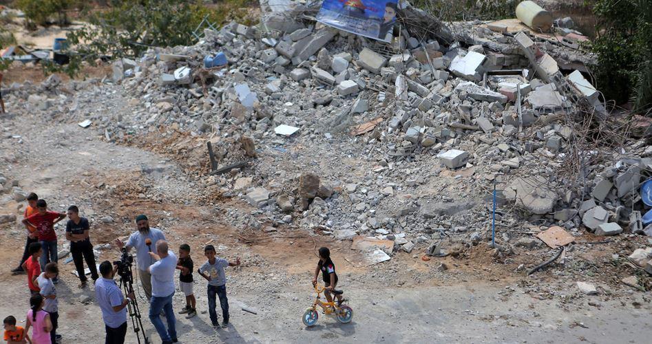 Sette famiglie palestinesi perderanno le case a causa di demolizioni israeliane
