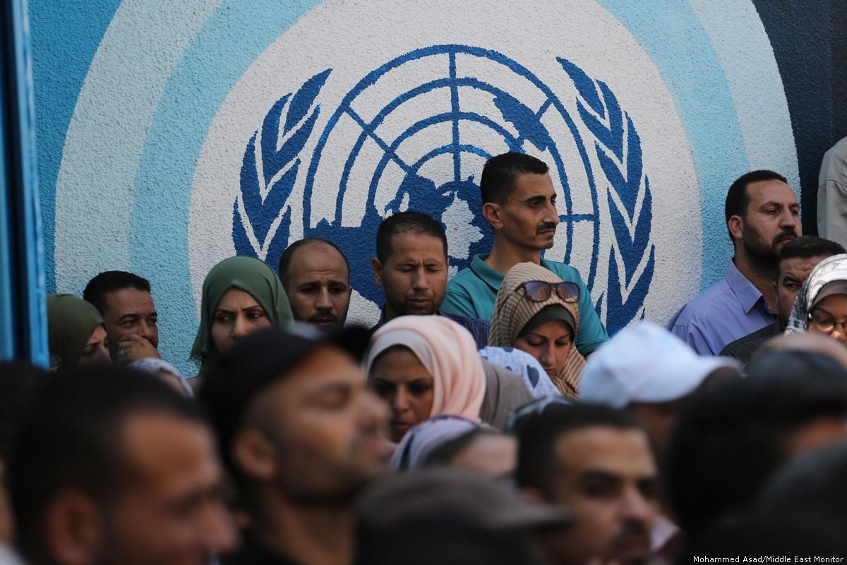 UNRWA taglia 40% degli stipendi dei suoi impiegati