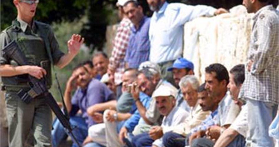 Israele arresta 85 lavoratori palestinesi